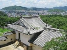 Himeji panorama Stock Photography
