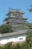 Himeji-Schloss stockfotos