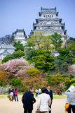 Himeji-Schloss lizenzfreies stockfoto