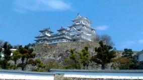 Himeji-Schloss, Japan; 姬路城 stockfotos