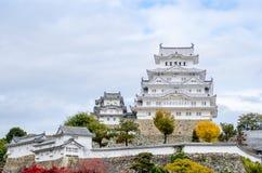 Himeji-Schloss in Japan Lizenzfreie Stockbilder