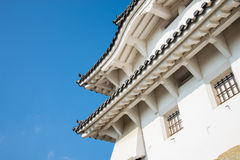 Himeji-Schloss in Japan Lizenzfreies Stockbild