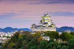 Himeji-Schloss Japan lizenzfreies stockbild