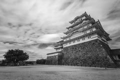 Himeji-Schloss in Japan lizenzfreies stockfoto