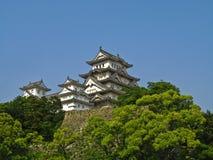 Himeji-Schloss, Japan Lizenzfreie Stockfotos