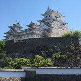 Himeji slott Royaltyfria Bilder