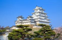 Himeji slott, Hyogo, Japan Royaltyfri Foto