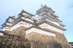 Himeji slott i Himeji Fotografering för Bildbyråer