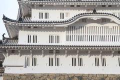 Himeji slott i Himeji Arkivfoto