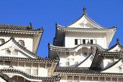 Himeji slott i Himeji, Hyogo Fotografering för Bildbyråer