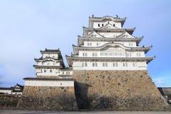 Himeji slott i Himeji, Hyogo Arkivbilder