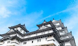 Himeji slott i Kansai - Japan Arkivfoton