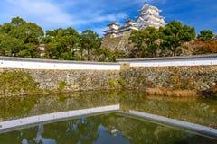 Himeji slott, Japan Royaltyfria Foton