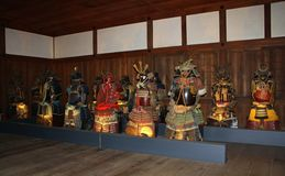 Himeji slott Japan Royaltyfria Bilder