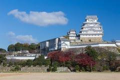 Himeji slott, Japan gränsmärke Arkivbilder