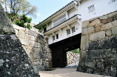Himeji slottport Royaltyfria Foton