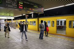Himeji stacja, Japonia Obrazy Stock