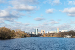 Himkistad, het gebied van Moskou Stock Afbeeldingen