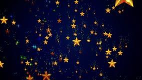 Himla- färgrika stjärnor vektor illustrationer