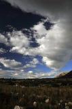 Himlar och hårt vaggar Arkivbilder