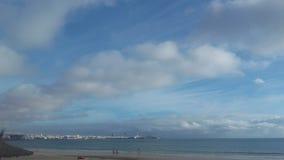 Himlen av Fuerteventura, Canarias fotografering för bildbyråer