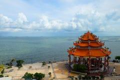 Himlen & havet Royaltyfri Fotografi