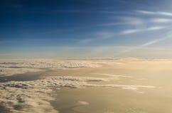 Himlen i morgonen Fotografering för Bildbyråer