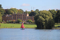 Himley Hall nr Dudley West Midlands, Anglia Zdjęcia Stock