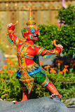 Himmapan creature at Royal Cremation Structure , Bangkok in Thai Stock Photography