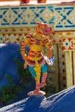 Himmapan creature at Royal Cremation Structure , Bangkok in Thai Stock Photo