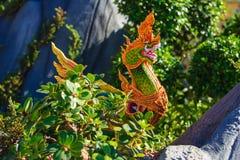 Himmapan creature at Royal Cremation Structure , Bangkok in Thai Stock Photos