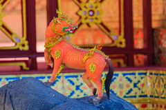 Himmapan creature at Royal Cremation Structure , Bangkok in Thai Stock Images