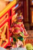 Himmapan creature at Royal Cremation Structure , Bangkok in Thai Royalty Free Stock Photography