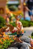 Himmapan creature at Royal Cremation Structure , Bangkok in Thai Royalty Free Stock Photos