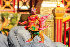 Himmapan creature at Royal Cremation Structure , Bangkok in Thai Royalty Free Stock Image