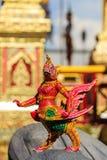 Himmapan creature at Royal Cremation Structure , Bangkok in Thai Stock Image