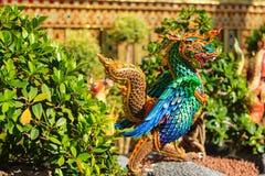 Himmapan creature at Royal Cremation Structure , Bangkok in Thai Royalty Free Stock Photo