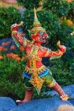 Himmapan varelse på den kungliga kremeringstrukturen, Bangkok i thailändskt Royaltyfri Fotografi
