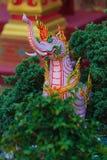 Himmapan varelse på den kungliga kremeringstrukturen, Bangkok i thailändskt Royaltyfri Bild