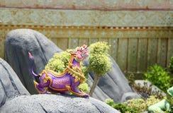 himmapan zwierzę statua Zdjęcie Stock
