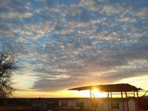 Himmel är alltid den skapade meningen som är bättre än mig Royaltyfria Foton