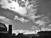 Himmel über 1 stockbilder