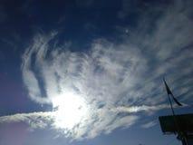 himmel lizenzfreie stockfotos