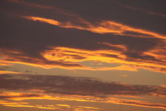 Himmel auf Feuer Lizenzfreie Stockfotografie