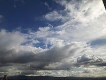 Himmel av Bogota royaltyfria bilder