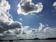 Himmel av förälskelse Royaltyfria Bilder