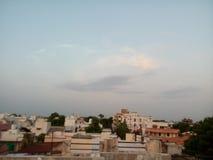 Himmel av indore Arkivbild