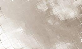 Himmel bak en mosaik av exponeringsglas Royaltyfri Fotografi