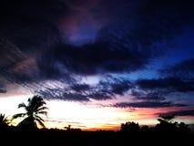 Himmel bei Thailand Stockfoto