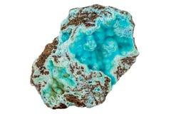 Himmel-Blau HEMIMORPHITE Crystal Mineral Specimen lizenzfreies stockfoto
